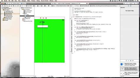 xcode delegate tutorial ios tutorial textfield delegate usage swift xcode