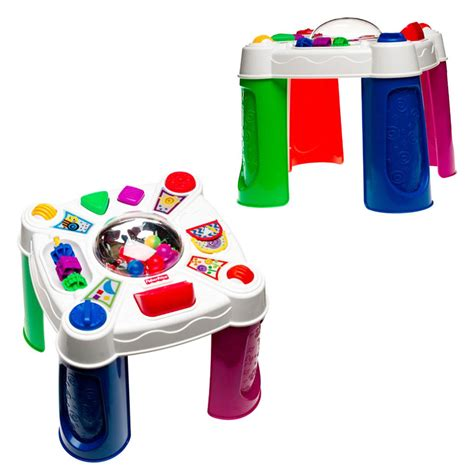 Fisher Price Musical Table by Fisher Price Brilliant Basics Musical Pop Tivity Table