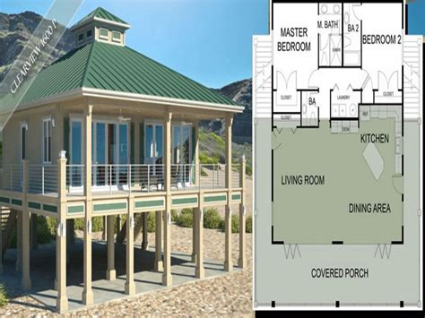 southern coastal house plans beach house plans southern living beach house plans on pilings beach house plans