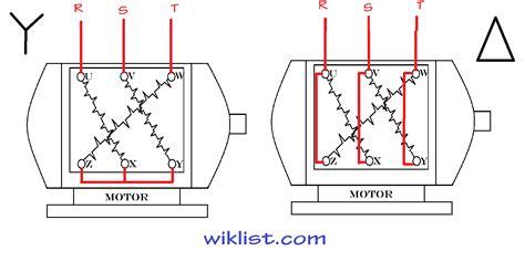 cara kerja wiring diagram delta motor starter ladder