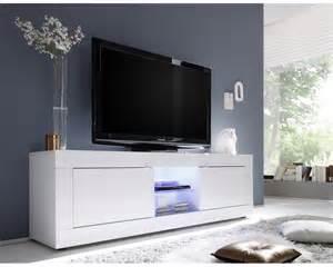 Charmant Meuble Tv 200 Cm Blanc #1: meuble-tv-design-lumineux-blanc-deux-portes-azzura-deux-niches-panneaux-particules-led-rgb.jpg
