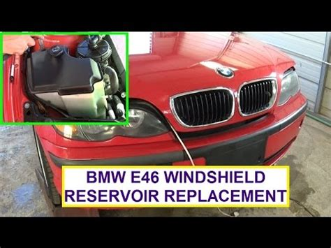 bmw windshield washer fluid replacement diy part 1 bmw 3 series windshield and headlight washer diy p