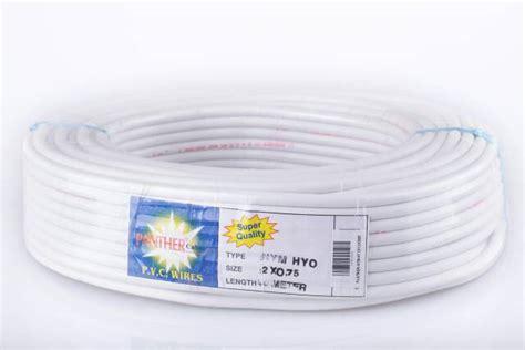 Kabel Listrik Nymhy Serabut 2 X 075mm Panjang 50 Yakushin jual kabel serabut nym hy phanther 2x0 75 electric bandung