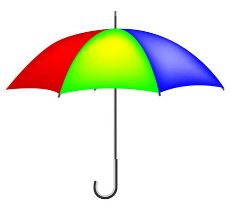 umbrella layout vector colorful umbrella free vector graphics vector download
