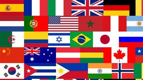 dibujos de banderas del mundo para imprimir banderas del mundo 10 facinantes cosas que no sabes