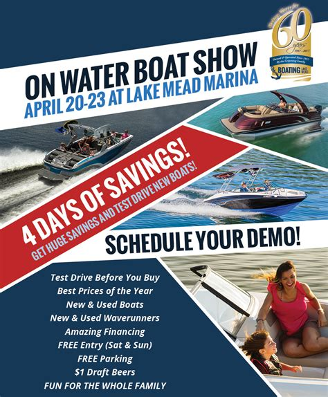 boat show las vegas on the water boat show 171 boats for sale in las vegas new