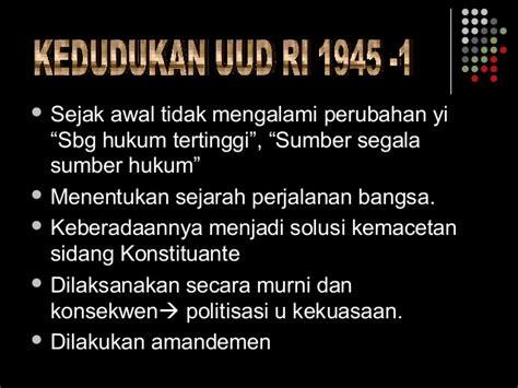 Problematika Dan Solusi Amandemen Uud 1945 uud nkri 1945