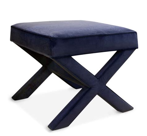 X bench venice navy contemporary indoor benches by jonathan adler