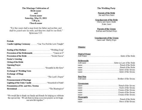 Wedding Program Template Personalized Wedding Programs Wedding Ideas Pinterest Program Church Wedding Ceremony Program Template