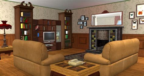 Lane Furniture Dining Room mod the sims 3 rosewater lane traditional 2 bed home