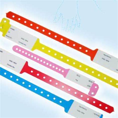 hospital wristband color meaning s4u hospital wrist band rs 3 no solution 4 u