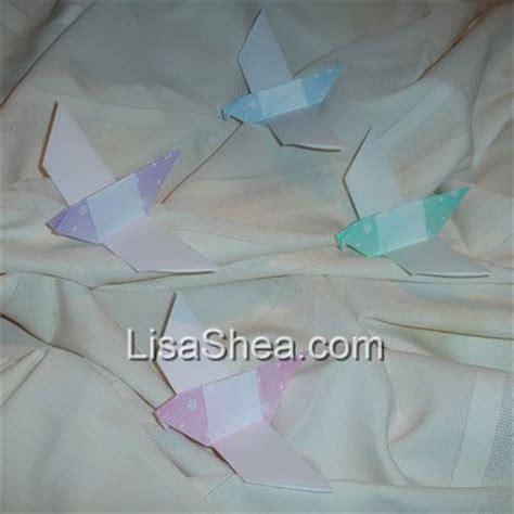 Origami Dove Pattern - origami dove handmade origami designs