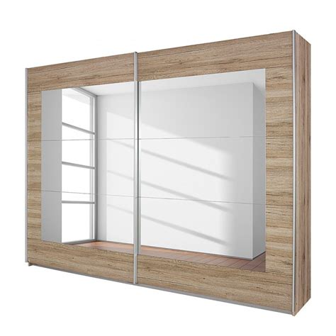 rauch sliding door wardrobe alpha oak 270 sliding door