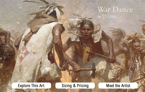 War Dances by War By Z S Liang Greenwich Workshop Prints And
