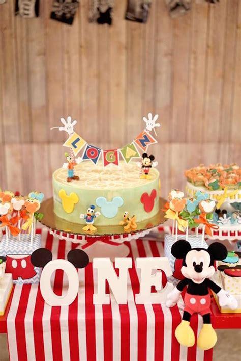 karas party ideas colorful mickey mouse st birthday party karas party ideas