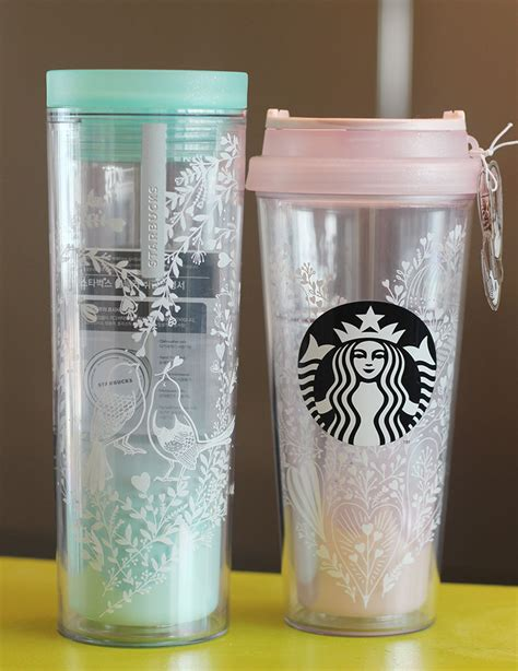 Happy Valentine's Day with Starbucks Korea Lovebird Crosby Lovebird Tumbler SET   eBay