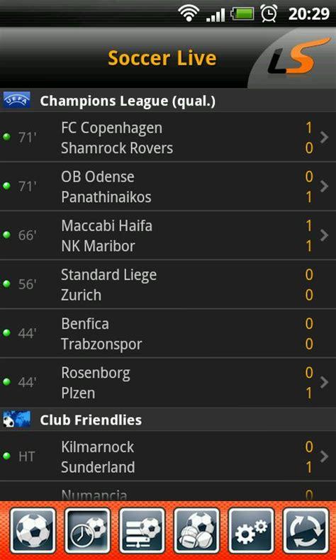 live score livescore soccer scores lengkap