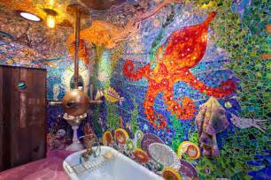 Room of the day bathe under the sea in a yellow sub tub homejelly