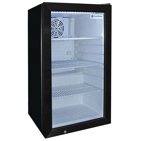 countertop prep cooler excellence emm 4s black countertop display refrigerator