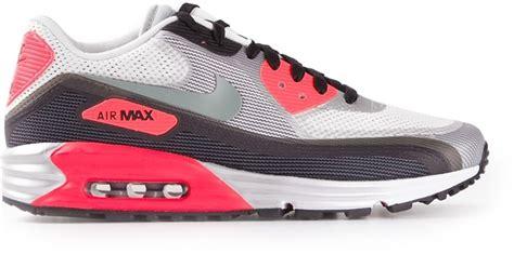 Nike Air Max Lunarlon Original pink athletic shoes nike air max lunarlon trainers