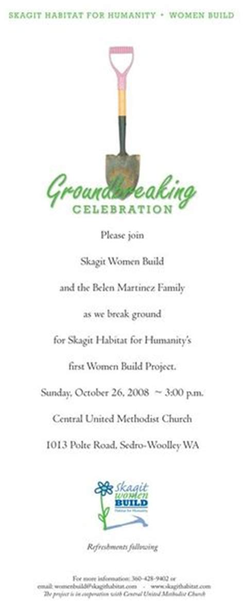 groundbreaking ceremony invitation templates groundbreaking ceremony invitation templates