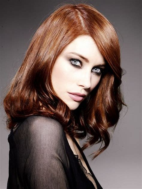 pictures of copper colored hair copper hair color pictures