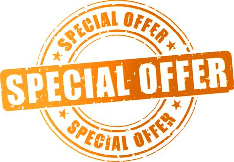 A Special Offer From by Special Offers Png Www Imgkid The Image Kid Has It