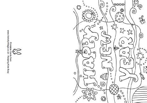new year card coloring pages happy new year greetings printable coloring pages and