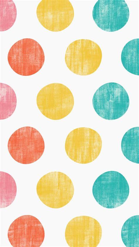 iphone 5 wallpaper pattern yellow iphone pinterest iphone 5 wallpaper polka dots pink orange yellow