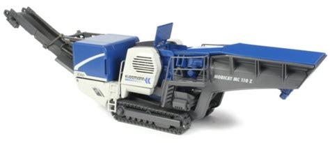 Kleemann Jaw Crusher Miniature Construction World Kleemann Mobicat Mc110 Z