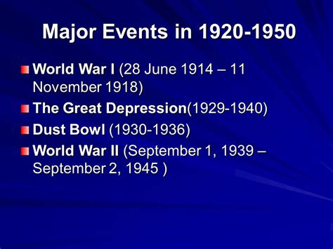 major events in the 1920s overview of american history ppt video online download