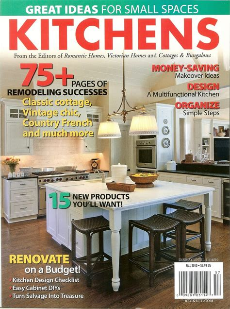 kitchen magazines timeless kitchen cabinetry quot kitchens quot magazine