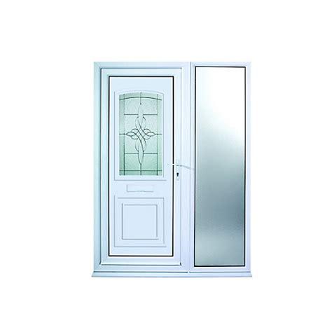 Wickes Medway 1 Sidelight Upvc Door 2085 X 1520mm Left Wickes Front Doors Upvc