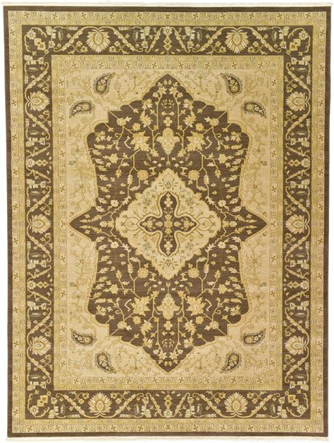 Oriental Persian Style Rugs Traditional Carpet Brown 8 11 Style Rug
