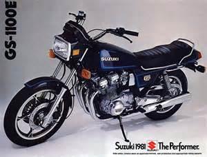 1980 Suzuki Gs1100e Suzuki Gs1100e