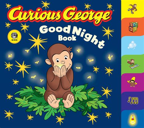 order curious george book cgtv tabbed board