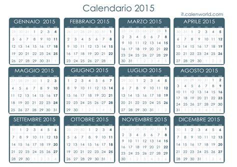 Calendario A Settimane 2015 Calendario 2015 Agenda 2015 Da Stare