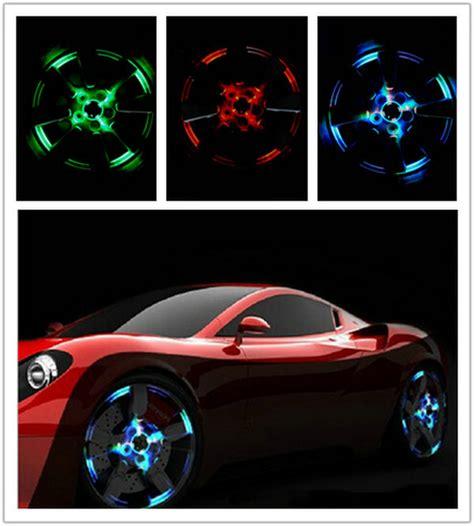 tire light on car solar energy led car tire light car styling wheel