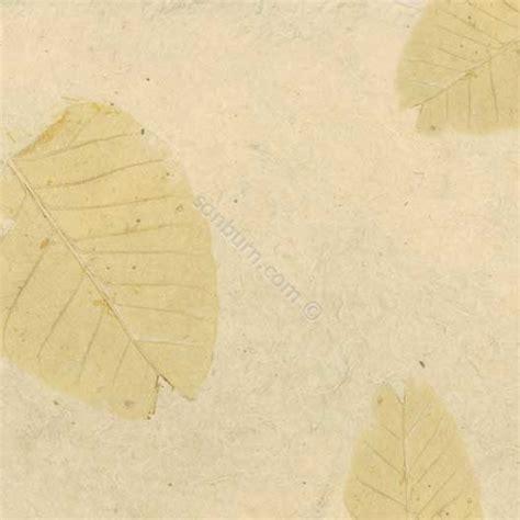Handmade Scrapbook Paper - beige leaves handmade scrapbook paper 12x12 25601 case