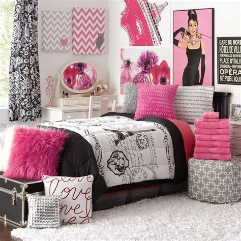 black and white paris comforter set paris bedding for girls