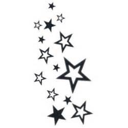 falling stars tattoo polyvore