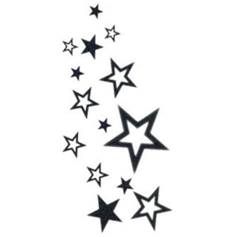 fallen star tattoo clipart best