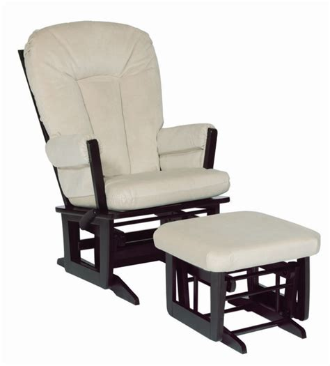 dutailier glider recliner and ottoman dutailier modern recliner glider and ottoman espresso w