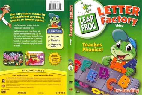 leap frog leapfrog letter factory dvd scanned covers leap frog letter factory cdcovers