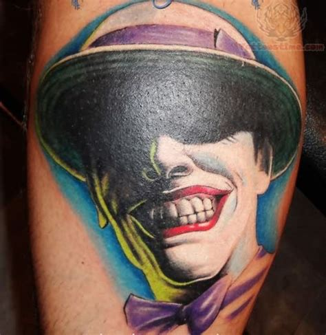 joker laugh tattoo joker laughing face tattoo