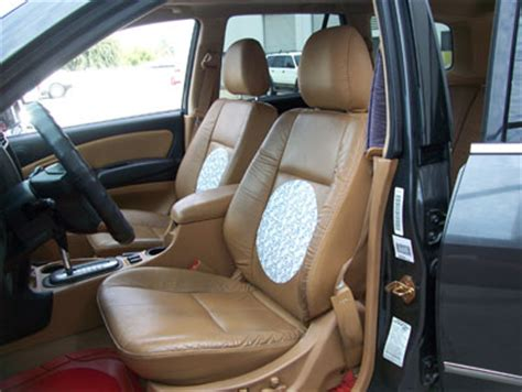 2008 ford escape seat covers leather ford escape 2001 2004 leather like custom seat cover ebay