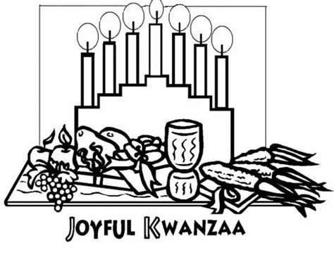 feast clipart kwanzaa pencil and in color feast clipart