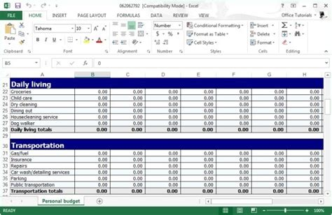 monthly budget template 10 download free documents in pdf excel