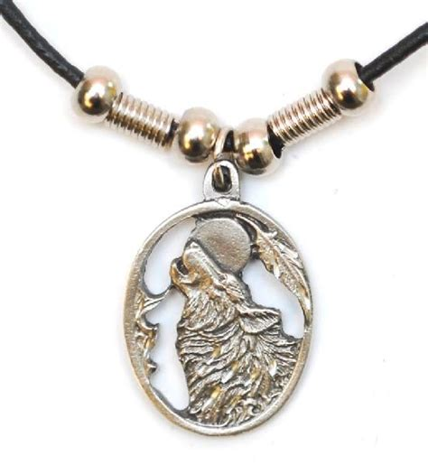 howling wolf necklace necklaces n 25 from eastwave