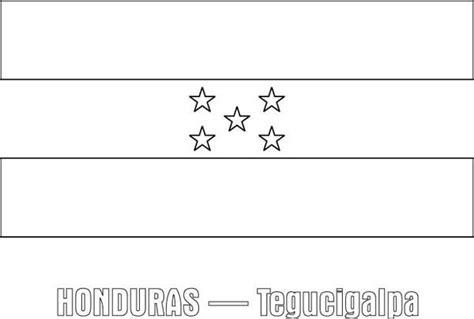 honduras nation flag colouring page zimbabwe flag